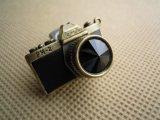 人気のチャーム アンテイーク調なカメラ クロ 1個