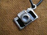 人気のチャーム アンテイーク調なカメラ 1個