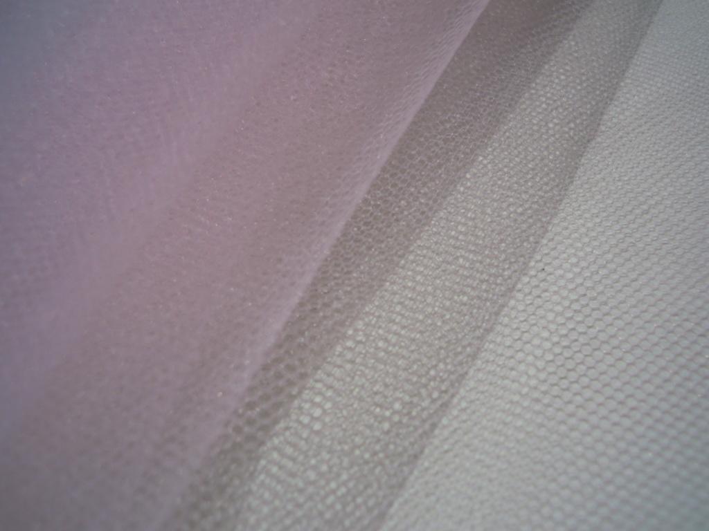 画像1: 数量限定品! 15デニール 人気のピンクのソフトチュール 1M