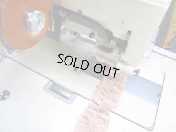 画像3: 流行の予感! 大人気のエコ・レースタワシに・・・ オレンジパールラメのボックス加工フリル 10M