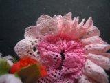 簡単にレースの花が作れるフラワートーション!!! ピンク 1M