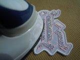 スパンブルト-ン!ホットフィックスのイニシャルモチーフ K ピンク