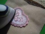 スパングルト-ン!ホットフィックスの人気の薔薇柄  ピンク