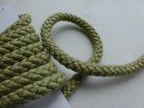 幅約0.9ミリ 人気のカラーロープ ダークな若草色 4M