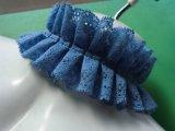 メッチャ、お買い得!チョーカーに如何!?肌に優しいブルーの人気のフリフリフリル・ラッセルレース 3M