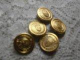 約13mm 人気のゴールドのカラーボタン 6個入り