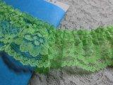 幅約3.6c 若草色のピコみたいなフリル 1.2M