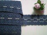 幅3.5c 藍色のラッセルストレッチ 8M