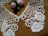 オフシロのエレガントな綿の襟レース