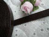 幅約1C 日本製 チョコ色のヌメ皮 1M