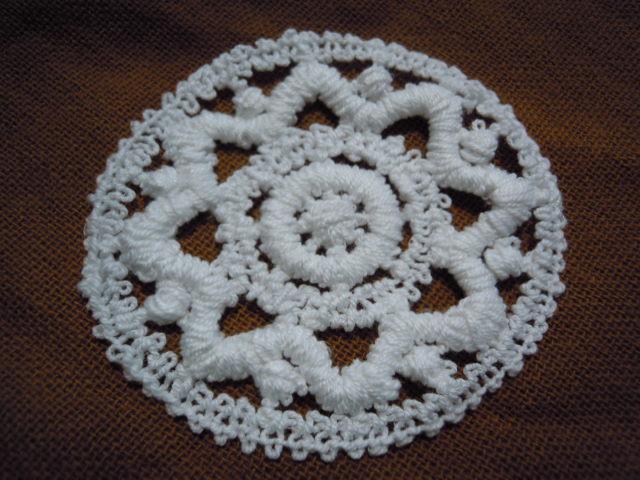 画像3: お買い得なエレガントな綿のコースターレース 2枚