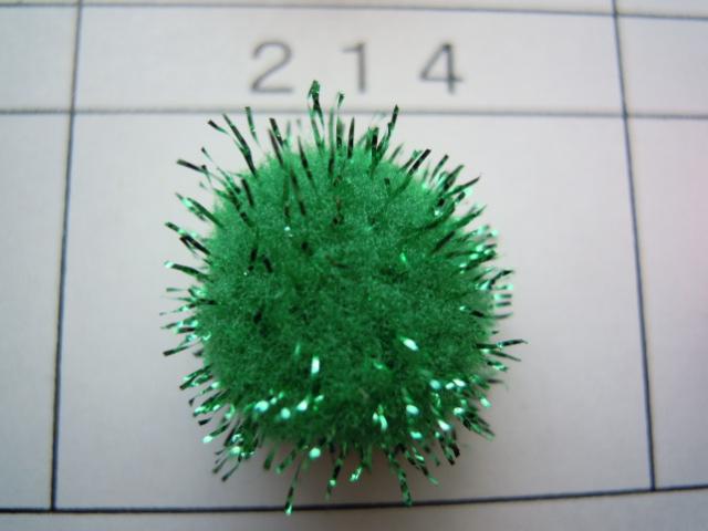 画像3: 直径約10ミリ たっぷり30個入り キラキラボンテン グリーン