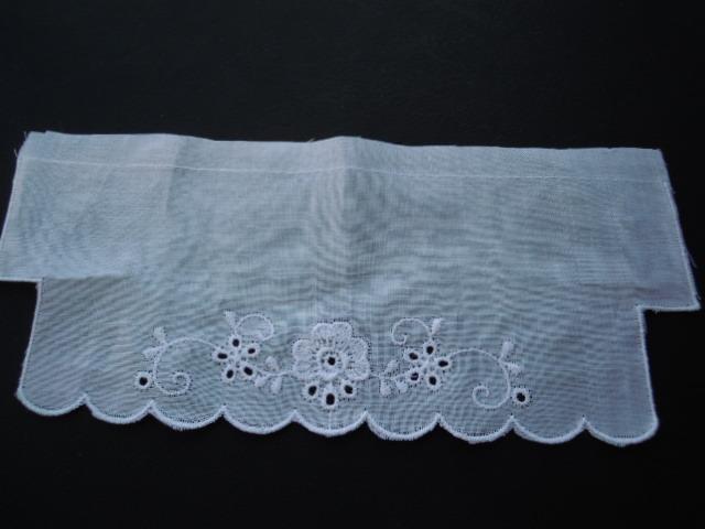 画像4: と〜っても可愛い綿の袖レース