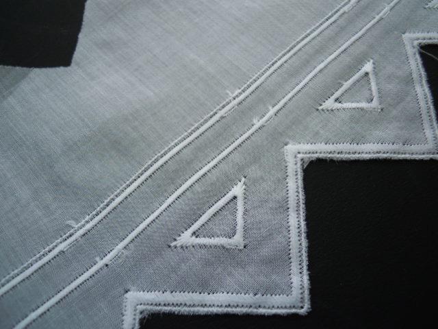 画像1: 幅約9.5c とてもエレガントなシロの綿レース 6M