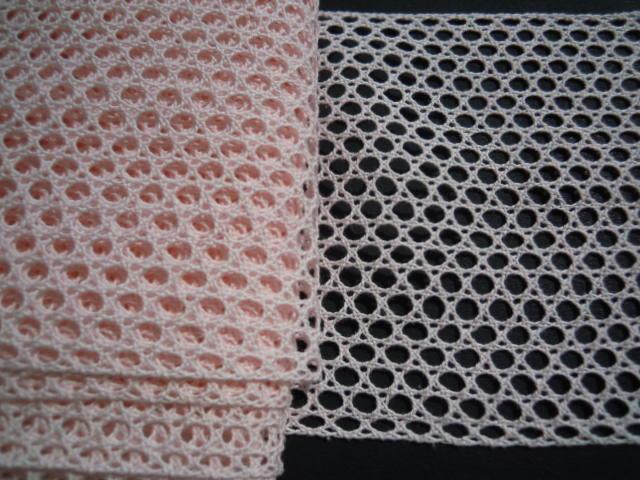 画像3: 値下げしました!!!幅約11c 人気の淡いピンクの綿メッシュトーションレース 5M