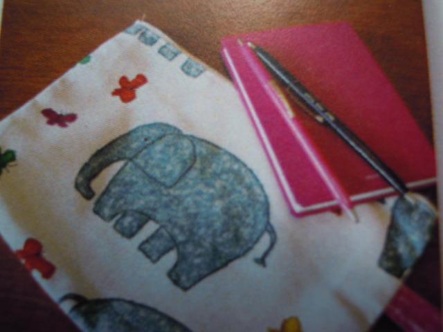画像3: 超!お買い得! クレヨンでお絵描き?人気の綿プリント ゾウさん 1.4M