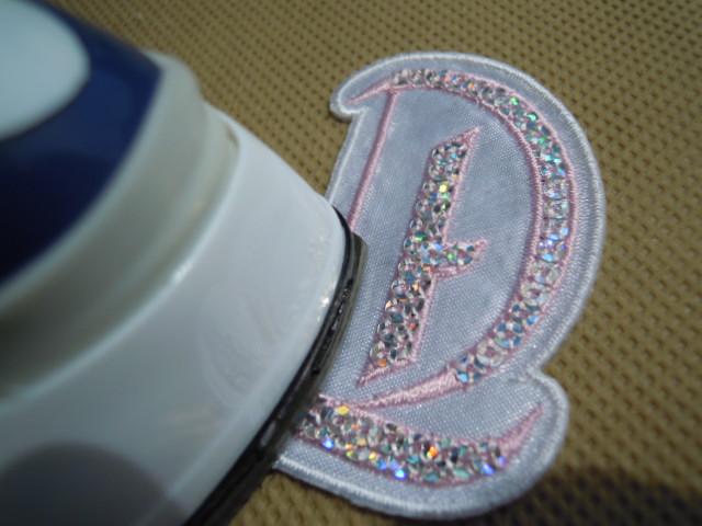 画像2: スパングルト-ン!ホットフィックスのイニシャルモチーフ  T  ピンク