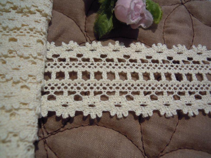 画像2: 人気の柄です!綿生成りトーションを卸値価格にて・・・100M