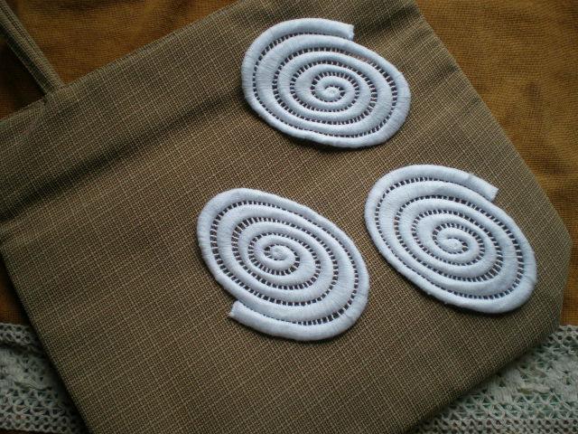 画像3: シロのちょっと変わったな綿ケミカルモチーフレース 3枚入り