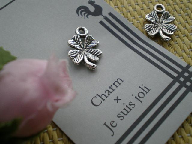 画像2: 人気のチャーム アンテイーク調な幸運を呼ぶ四葉のクローバー!? 1個