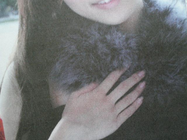 画像3:  流行のマラボー(七面鳥羽毛) パープル 約1.8M
