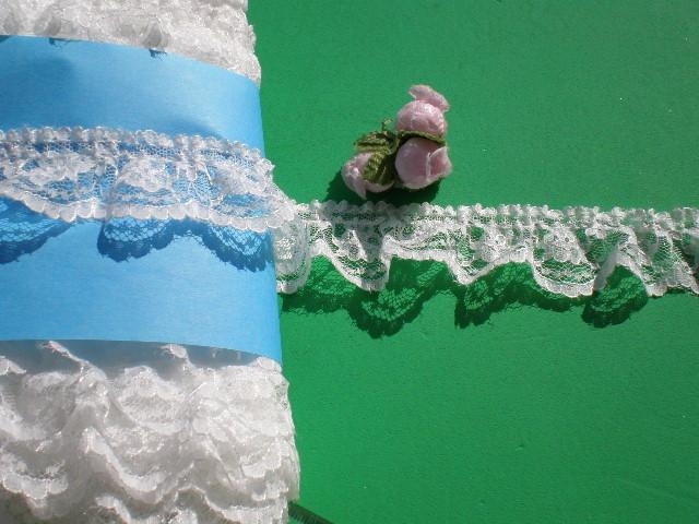 画像1: 人気のオフシロのラッセルフリル原反売り