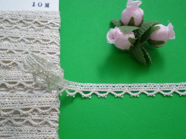 画像1: 特に人気の綿麻のトーションを卸値価格にて・・・100M